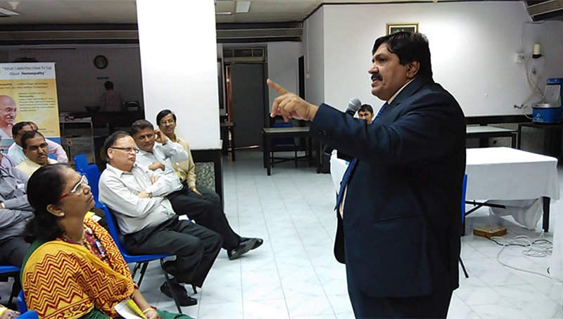 Homeopathy Lecture by Dr. Jawahar Shah, Managing Director